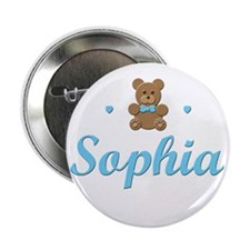Blue Teddy - Sophia Button