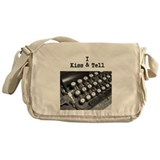 I Kiss & Tell Messenger Bag