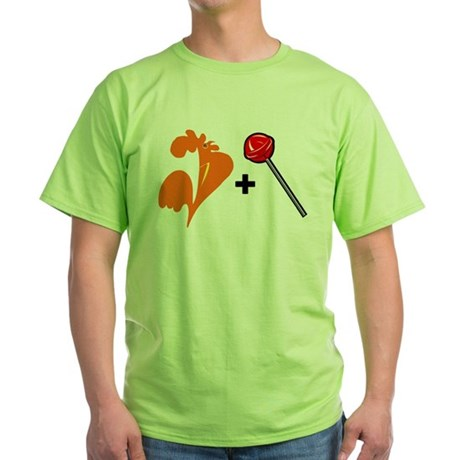 Cock Sucker Green T-Shirt
