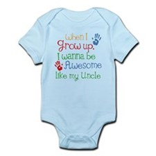 Awesome Like My Uncle Infant Bodysuit