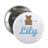 Blue Teddy - Lily Button