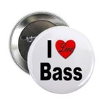 I Love Bass Button