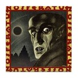Nosferatu (1922) Tile Coaster