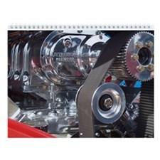 #1 Hot Rod Engines Photo Calendar