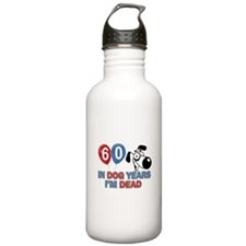 60 year old gift ideas Water Bottle