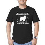 Polish Lowland Sheep dog funny designs T