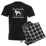 Portuguese water dog funny designs pajamas