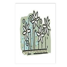 Unique Daisies Postcards (Package of 8)