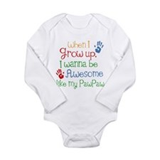 Awesome Like My PawPaw Baby Suit