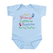 Awesome Like My PawPaw Infant Bodysuit