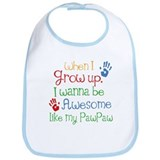 Awesome Like My PawPaw Bib