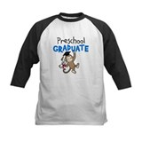 Preschool Graduate - Monkey (Blue) Baseball Jersey