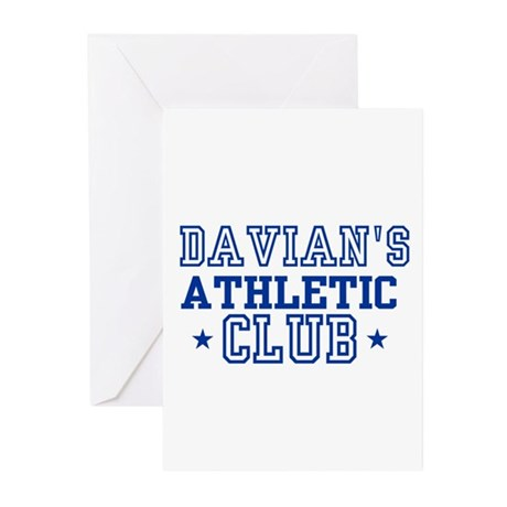 Davian Greeting Cards (Pk of 10)