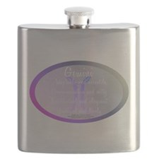 Gemini Astrology Flask