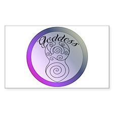 Spiral Goddess Decal