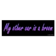 My Other Car is a Broom Bumper Bumper Sticker