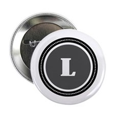 "Gray 2.25"" Button (10 pack)"