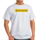 More Money Yellow Ash Grey T-Shirt