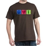 Peace Love Cure Tourette T-Shirt