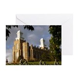 Logan temple Greeting Cards (Pk of 10)