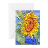 Sun Flower Greeting Cards (Pk of 10)