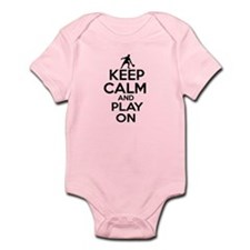 Keep calm and play Ping Pong Infant Bodysuit