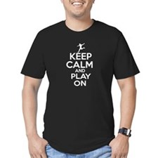 Keep calm and play Soccer T