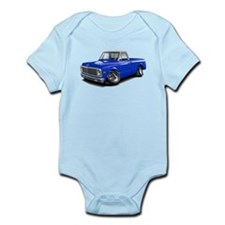 Chevy C10 Blue-White Top Body Suit
