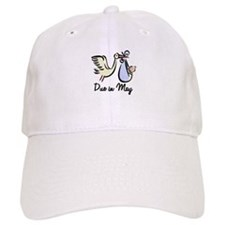Due In May Stork Baseball Cap