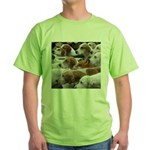The Foxed Green T-Shirt