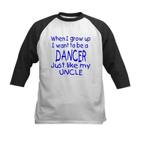 Dance just like Uncle Kids Baseball Jersey