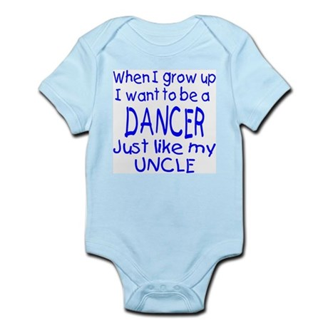 Dance just like Uncle Infant Bodysuit