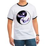 Yin Yang Dolphins Ringer T