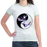 Yin Yang Dolphins Jr. Ringer T-Shirt