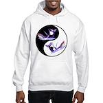 Yin Yang Dolphins Hooded Sweatshirt