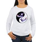Yin Yang Dolphins Women's Long Sleeve T-Shirt