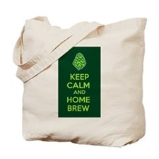 Keep Calm and Home Brew Tote Bag