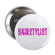 Retro Hairstylist Button