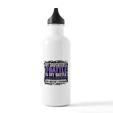 My Battle Too 2 H Lymphoma Sports Water Bottle