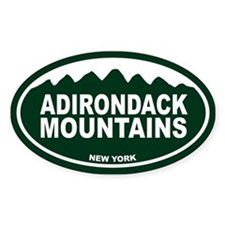 Adirondack Mountain Decal