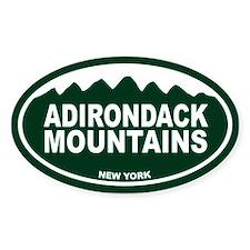 Adirondack Mountain Decal