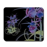 Atom Flowers #39 Mousepad