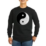 Yin Yang Long Sleeve Dark T-Shirt