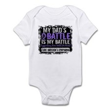 My Battle Too 2 H Lymphoma Infant Bodysuit