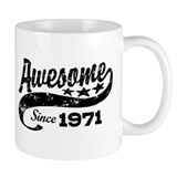 Awesome Since 1971 Mug
