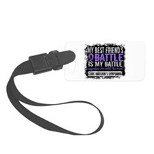 My Battle Too 2 H Lymphoma Luggage Tag