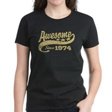 Awesome Since 1974 Tee