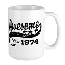 Awesome Since 1974 Ceramic Mugs