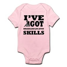 Brazilian Jiu Jitsu martial arts designs Infant Bo