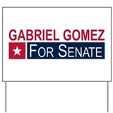 Elect Gabriel Gomez Yard Sign